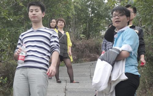 蒲江登山活动